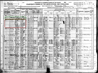 niesl-george-1920-us-census-hilighted