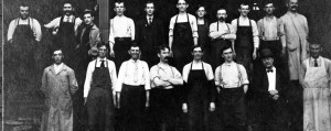 Employees of A. Schoch Grocery, circa 1905